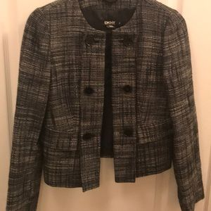 DKNY Blazer black/white patterned